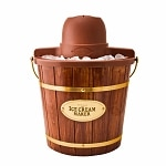 Nostalgia Electrics ICMW-400 4-Quart Wooden Bucket Electric Ice Cream Maker- 1 ea