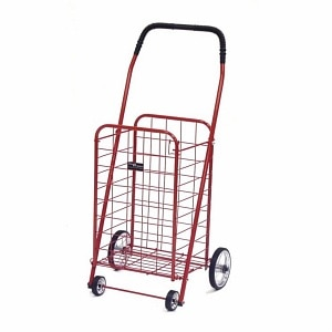 Easy Wheels Mini Shopping Cart, Red