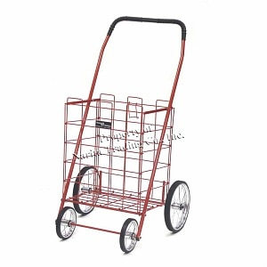 Easy Wheels Shopping Cart Mitey, Red- 1 ea