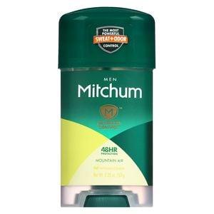 Mitchum Men Advanced Gel Anti-Perspirant & Deodorant, Mountain Air- 2.25 oz