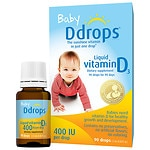 Ddrops Baby Vitamin D3 400IU