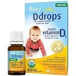 Ddrops Baby Vitamin D3 400IU- 90 drops