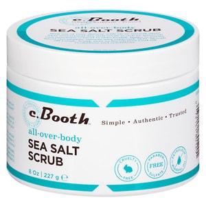 c. Booth All Over Body Sea Salt Scrub- 8 oz