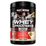 Six Star Whey Protein Plus, Elite Series, Vanilla Cream- 2 lb