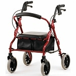 Nova Zoom 18 Rolling Walker, Red