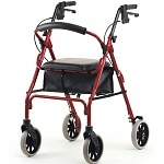 Nova Zoom 22 Rolling Walker, Red