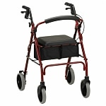 Nova Zoom 24 Rolling Walker, Red