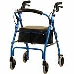 Nova GetGo Classic Rollator, Blue- 1 ea