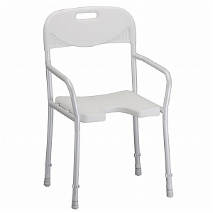 Nova Shower Chair with Back & Arms- 1 ea