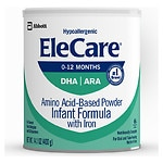 EleCare Amino Acid Based  Infant Formula with Iron, Powder, Unflavored