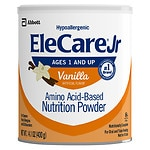 EleCare Jr Amino Acid Based Medical Food, Powder, Ages 1+, Vanilla- 14.1 oz