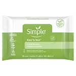 Simple Facial Wipes, Cleansing- 25 ea