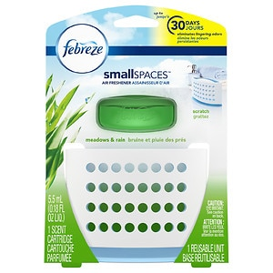 Febreze Set & Refresh Air Freshener, Meadows & Rain