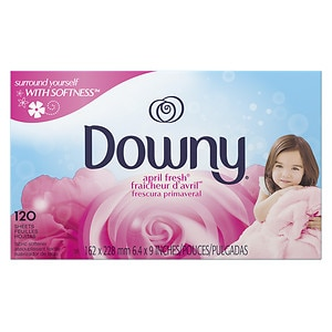 Downy Fabric Softener Sheets, April Fresh- 120 ea
