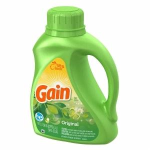 Gain Original Scent Laundry Detergent, 50 fl oz (00037000127666)