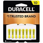 Duracell EasyTab Hearing Aid Batteries, #10