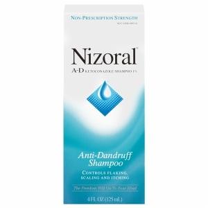Nizoral A-D Ketoconazole Anti-Dandruff Shampoo- 4 fl oz