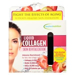 Applied Nutrition Liquid Collagen Skin Revitalization, Liquid-Tubes, Strawberry & Kiwi- 10 ea