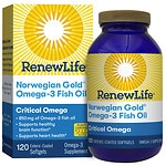 ReNew Life Norwegian Gold Critical Omega, Ultimate Fish Oils,