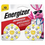 Energizer EZTurn & Lock Hearing Aid Battery, Size 10
