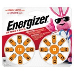 Energizer EZTurn & Lock Hearing Aid Battery, Size 13