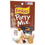 Friskies Party Mix, Wild West Crunch: Beef, Liver & Cheddar