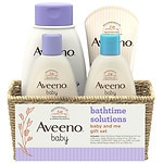 Aveeno Baby Daily Bathtime Solutions Gift Set, Giftset