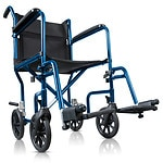 Hugo Portable Lightweight Transport Wheelchair with Detachable