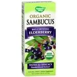 Nature's Way Organic Sambucus Syrup, Berry