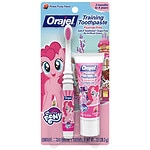 Orajel Toddler My Little Pony Training Toothpaste with Toothbrush, Pinky Fruity