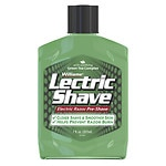 Williams Lectric Shave Electric Shave, Electric Razor Pre-Shave, Original