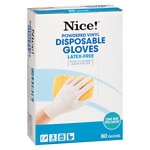 Walgreens Disposable Powdered Vinyl Gloves