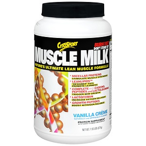 CytoSport Muscle Milk Protein Powder, Vanilla