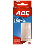 Ace Elastic Bandage with Clips, Model 207313, 4 inches- 1 ea