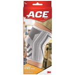 Ace Knitted Knee Brace with Side Stabilizers, Model 207355, Large