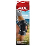 Ace Knee Brace with Dual Side Stabilizers, Model 200290, One Size Adjustable