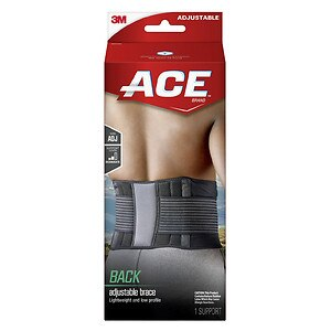 Ace Back Brace, Model 207744, One Size Adjustable- 1 ea