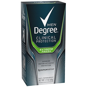 Degree Men Clinical+ Antiperspirant & Deodorant, Extreme Fresh- 1.7 oz