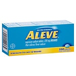 Aleve All Day Strong Pain Reliever Fever Reducer, Caplets- 200 ea