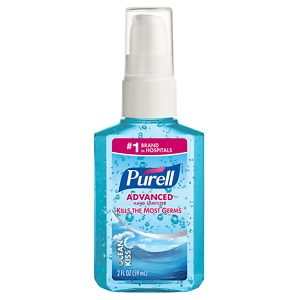 Purell Advanced Hand Sanitizer, Pump, Ocean Kiss