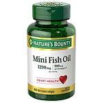 Nature's Bounty Fish Oil 1290 mg, 900 mg Omega-3, Softgels- 90 ea