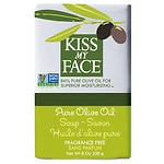Kiss My Face Olive Oil Bar Soap, Pure Olive Oil, Fragrance Free- 8 oz