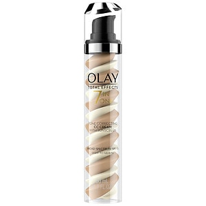 Olay Total Effects CC Cream Tone Correcting Face Moisturizer with Sunscreen, Light to Medium, 1.7 fl oz