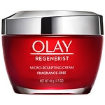 Olay Regenerist Micro-Sculpting Face Cream Moisturizer, Fragrance-Free- 1.7 oz