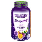 Vitafusion SleepWell Gummy Sleep Aid for Adults, White Tea & Passion Fruit