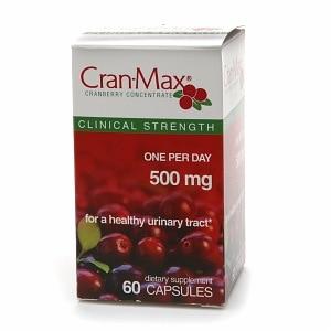 Cran-Max Cranberry Concentrate 500mg, Capsules- 60 ea