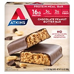 Atkins Advantage Meal Bars, 5, Chocolate Peanut Butter