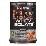 Six Star Professional Strength Whey Isolate Elite Series, Decadent Chocolate- 1.5 lbs