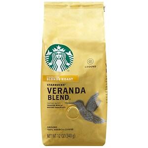 Starbucks Blonde Roast, Veranda Blend, Ground