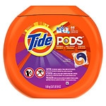 Tide Pods Laundry Detergent Pacs, Spring Meadow- 66 ea